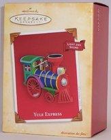 Hallmark Yule Express Handcrafted Train Engine Christmas Ornament 2004