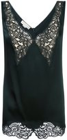 Stella McCartney lace detail blouse - women - Silk/Cotton/Acetate/Viscose - 40