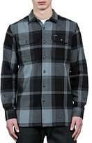Volcom Men's Heavy Daze Flannel Long Sleeve Shirt