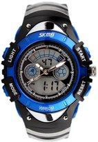 eYotto Kids Boys' Digital Watches Waterproof Analog Date Alarm Wrist Quartz Sports Watches + EL Backlight