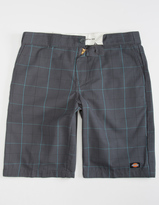 Dickies Charcoal Plaid Mens Shorts