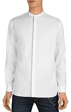 The Kooples Sweet Squares Slim Fit Button-Up Shirt
