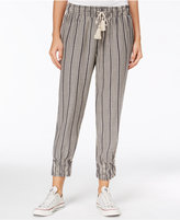 American Rag Striped Cropped Soft Pants, Only at Macy's