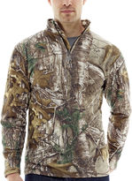 JCPenney Medalist Realtree Heatlock Fleece Thermal Pullover