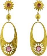 A2 BY ARUNASHI Sun And Sand Garnet Earrings