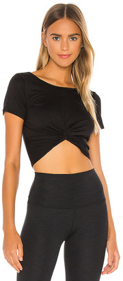 Beyond Yoga Don't Get It Twisted Reversible Crop Tee