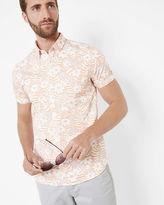 REALHIP Floral cotton shirt