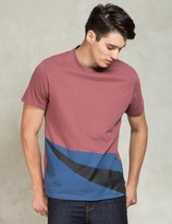 Levi's Red/Blue/Black Commuter Drop Hem T-Shirt