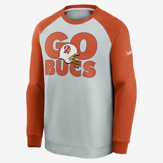 Nike Men's Sweatshirt Historic Raglan (NFL Buccaneers)