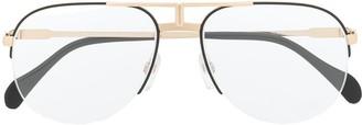 Cazal Aviator Frame Glasses