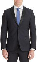 J. Lindeberg Midnight Blue Slim Wool Tux Jacket