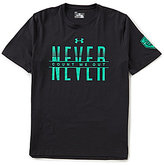 "Under Armour Short-Sleeve ""Never Count Me Out"" Tee"