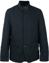 Michael Kors band collar padded jacket