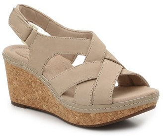 Clarks Annadel Pearl Wedge Sandal