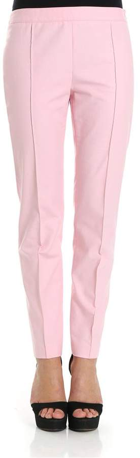 Moschino Cotton Blend Trousers