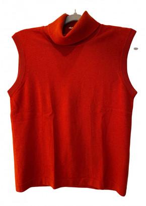 Hermes Orange Cashmere Knitwear