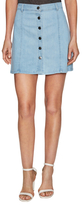 Eileen Skater Denim A-Line Skirt