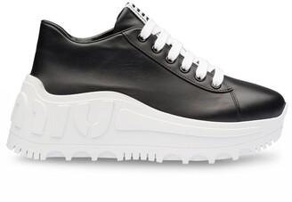 Miu Miu Platform Low-Top Sneakers