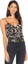 House Of Harlow x REVOLVE Audrey V-Neck Cami in Black. - size L (also in XL,XS)