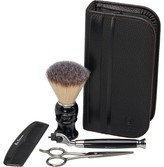 Ben Sherman Mens Premium Shaving Set Black