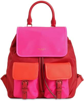 Tory Burch PERRY COLOR BLOCK NYLON BACKPACK