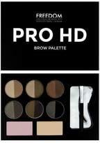 Freedom Hd Brow Palette Medium Dark