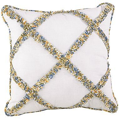 "JCPenney Heather 16"" Square Decorative Pillow"