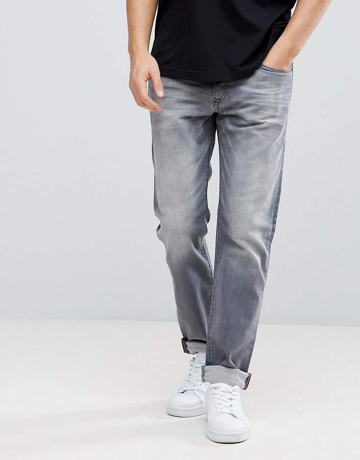 Diesel Buster Jeans in Washed Gray