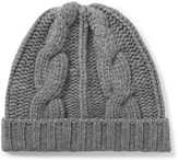 Loro Piana Cable-Knit Cashmere Beanie