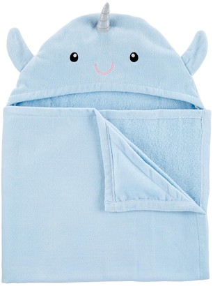 Carter's Baby Boy Narwhal Hooded Towel