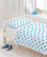Aden Anais Fluro Blue Classic Toddler Bed in a Bag Set