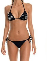 Niyatree Finger s Swimsuit Women Thin Bodysuit Black Sexy Funny Bikini Set