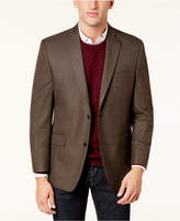 MICHAEL Michael Kors Men's Big and Tall Classic-Fit Tan Check Sport Coat