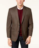 MICHAEL Michael Kors Men's Big & Tall Classic-Fit Tan Check Sport Coat