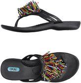 OKA b. Toe strap sandals