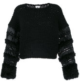 Comme des Garcons knitted sweater