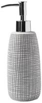 Kassatex Raffia Lotion Dispenser Grey/White
