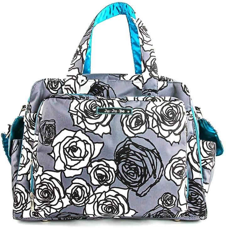 Ju-Ju-Be Be Prepared Diaper Bag, Charcoal Roses
