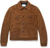 Sandro Slim-Fit Suede Jacket