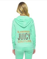 Juicy Couture Logo Velour Juicy Gems Original Jacket