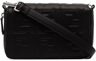 Fendi FF motif-embossed camera bag