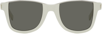 Saint Laurent Off-White SL 51 Cut-Away Sunglasses