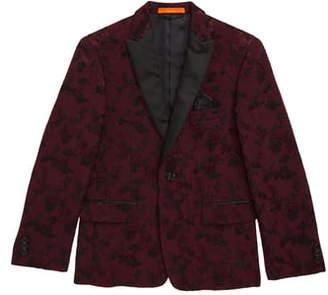 Tallia Floral Jacquard Jacket
