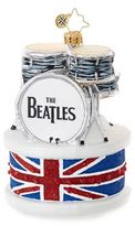 Christopher Radko Ringo Drum Set Figurine