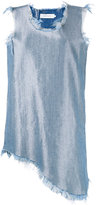 Marques Almeida Marques'almeida - denim mini dress - women - Cotton/Polyester/Rayon - S