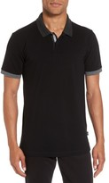 BOSS Men's Contrast Trim Polo