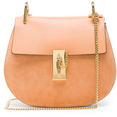 Chloé Small Drew Suede & Leather Shoulder Bag