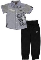 "Enyce Little Boys' ""Stitched Angles"" 2-Piece Outfit"
