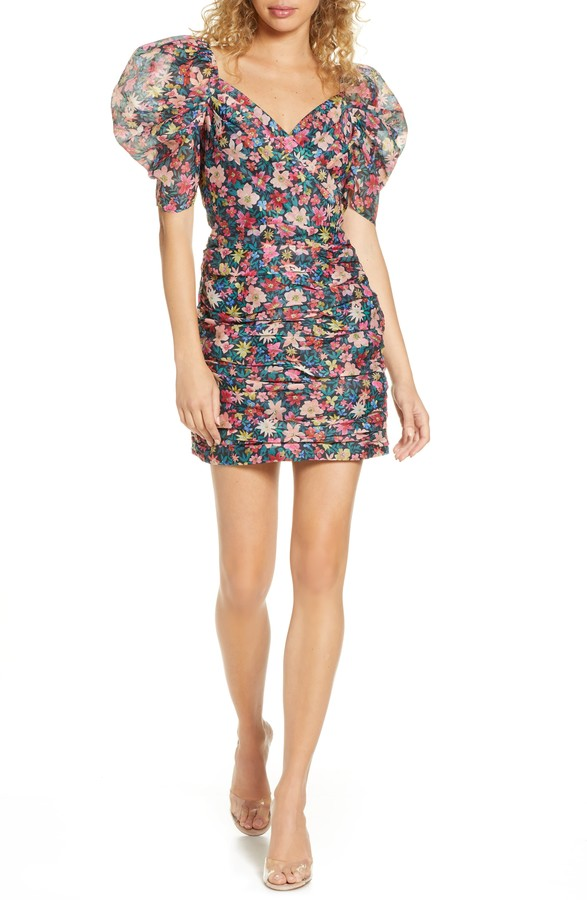 C/Meo Collective And Ever More Floral Minidress