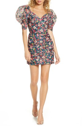 C/Meo And Ever More Floral Minidress